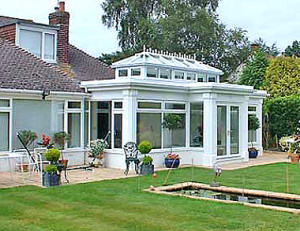 fully fitted Orangeries
